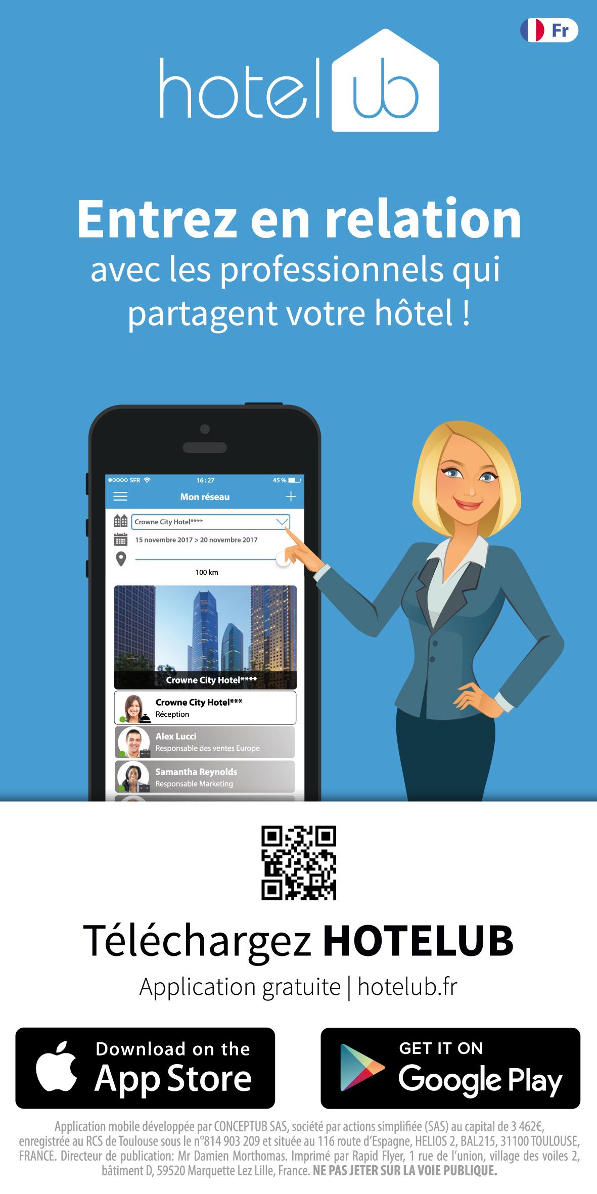 hotelub flyer