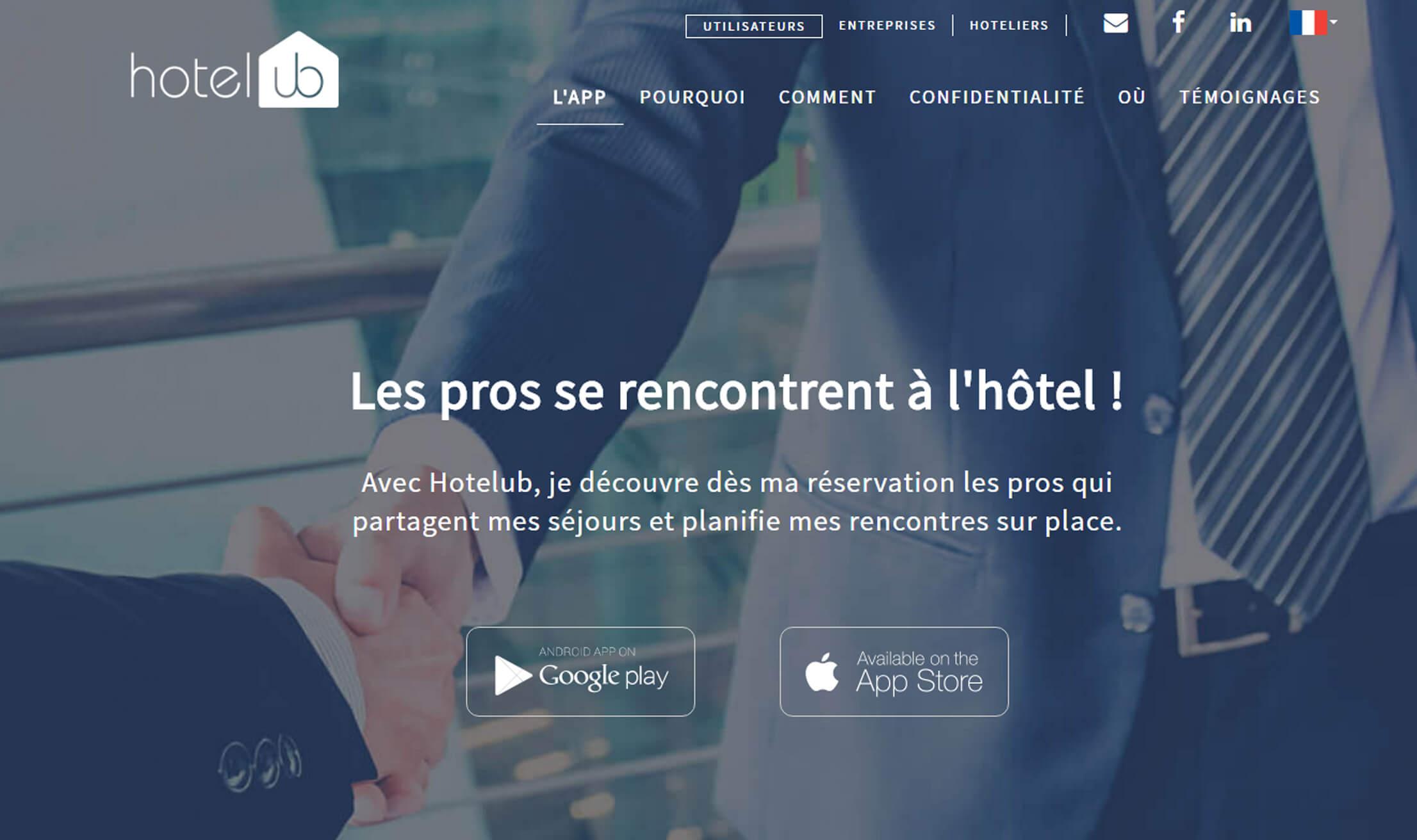 Hotelub utilisateurs