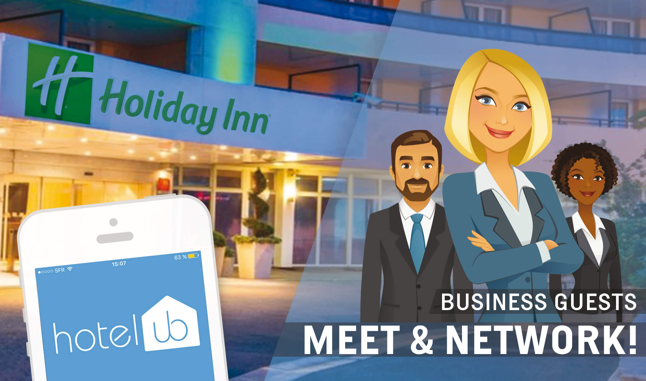 Holiday Inn connecte ses collaborateurs