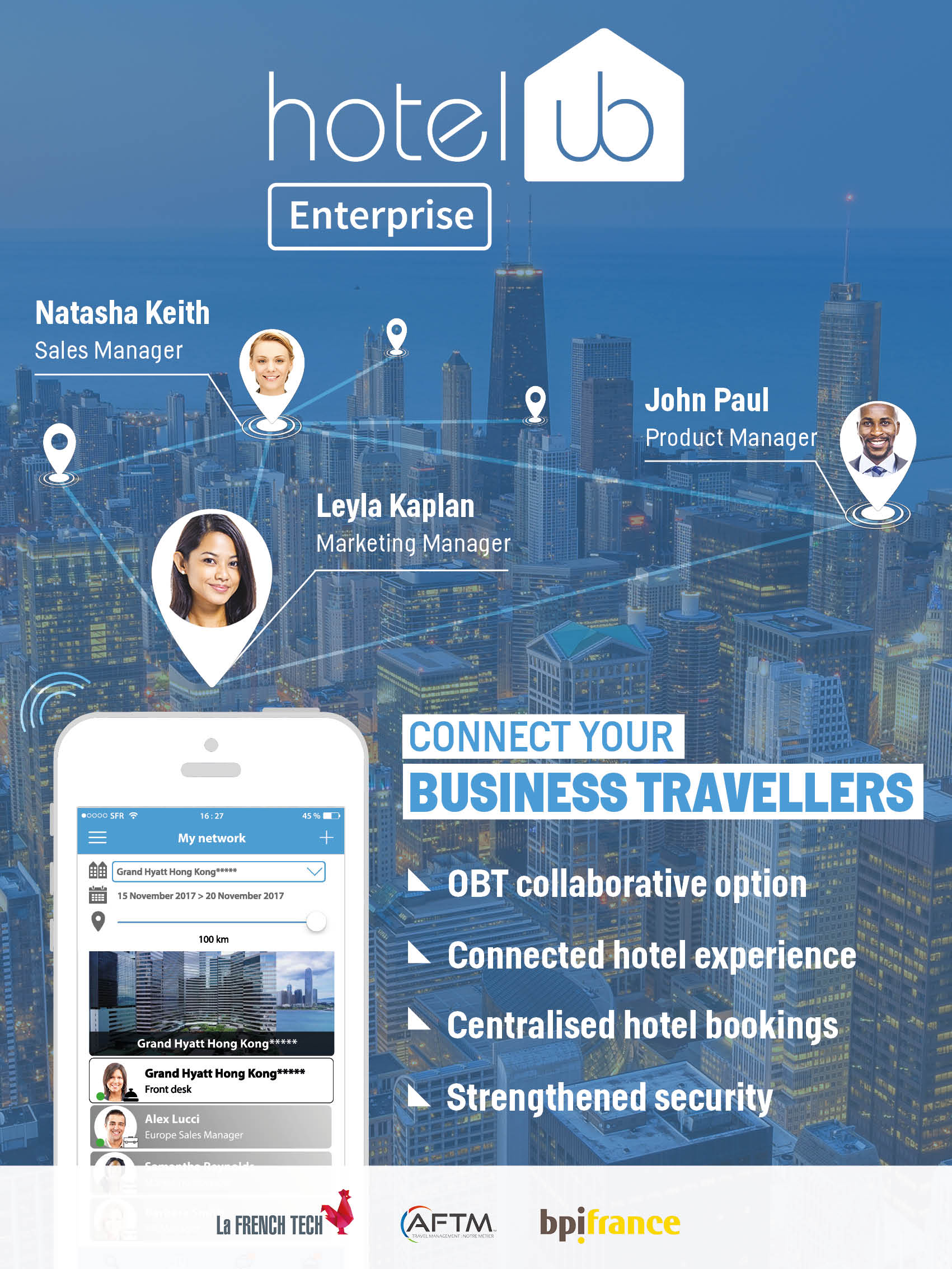 Hotelub connecting business travellers